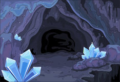 Fairy cave royalty free illustration