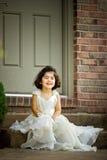 Fairy child stock image