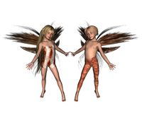 Fairy Children Royalty Free Stock Photography
