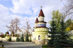 Fairy children's town.Chelyabinsk.Russia. Royalty Free Stock Photography