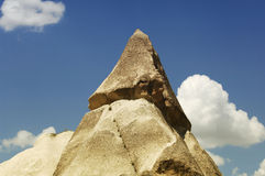 Fairy chimney in capadocia Royalty Free Stock Photo