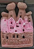 fairy chimney ceramic cappadocia souvenirs Royalty Free Stock Photo