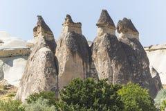 Fairy chimney houses royalty free stock image