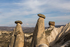 Fairy Chimney peaks, Cappadocia, Turkey Royalty Free Stock Images