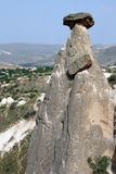 Fairy chimneys and balancing rocks of Devrent Valley in  Cappado Stock Images
