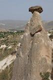 Fairy chimneys and balancing rocks Stock Photo