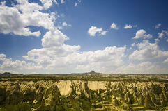 Fairy chimneys in capadocia Stock Photo
