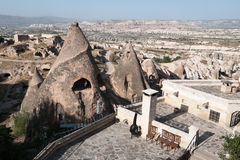 Fairy Chimneys In Cappadocia Royalty Free Stock Photography