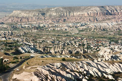 Fairy Chimneys In Cappadocia Stock Photography