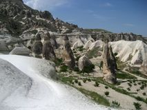 Fairy chimneys of Cappadocia Stock Photography