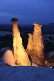 Fairy Chimneys in Cappadocia Royalty Free Stock Images