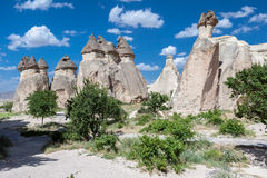 Fairy Chimneys Cappadocia Stock Photo