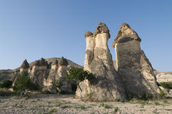Fairy Chimneys In Cappadocia, Turkey Stock Photos