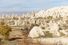 Fairy Chimneys in Cappadocia, Turkey Stock Images