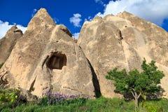 Fairy chimneys in Cappadocia, Turkey Royalty Free Stock Photos