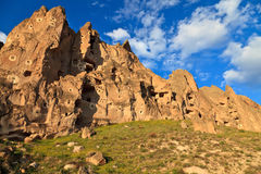 Fairy chimneys in Cappadocia, Turkey Stock Photography