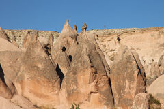 Fairy chimneys Stock Image
