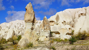 Fairy chimneys in Cappadocia, Turkey Royalty Free Stock Photo