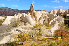 Fairy chimneys in Cappadocia, Turkey Royalty Free Stock Photography