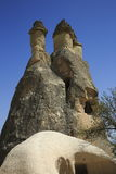 Fairy chimneys Cappadocia,Turkey Stock Image
