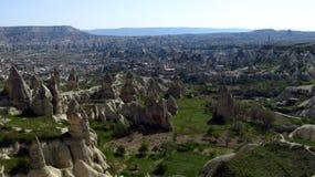 Fairy Chimneys in Göreme, Cappadocia stock photos