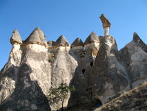 Fairy chimneys near Goreme, Cappadocia, Turkey Stock Photography