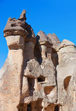 Fairy chimneys (rock formations) at Cappadocia Turkey Stock Images