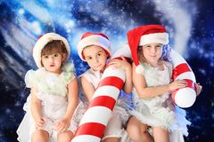 Fairy christmas Stock Photos