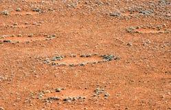 Fairy Circles - Namibia Stock Photo