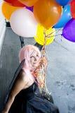 Fairy com balões Imagem de Stock