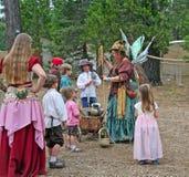 Fairy con i bambini Immagine Stock Libera da Diritti