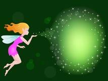 Fairy con incanto magico Fotografia Stock Libera da Diritti