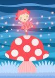 Fairy cor-de-rosa Fotos de Stock