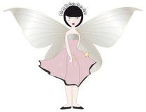 Fairy cor-de-rosa ilustração do vetor