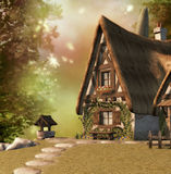 Fairy Cottage Stock Images