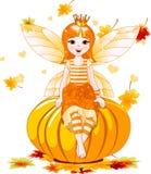 Fairy da acção de graças ilustração stock