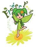 Fairy da flor Imagem de Stock