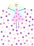 Fairy da flor Foto de Stock