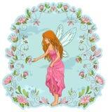 Fairy da flor Imagem de Stock Royalty Free