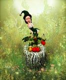 Fairy da morango Foto de Stock Royalty Free