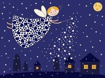 Fairy da noite ilustração stock