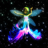 Fairy dancing Stock Images