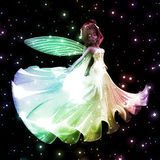 Fairy dancing Royalty Free Stock Images