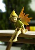 Fairy de assento fotografia de stock royalty free