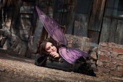 Fairy de descanso Imagem de Stock Royalty Free