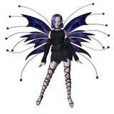 Fairy de Goth do inverno - 1 Fotografia de Stock
