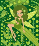 Fairy de madeira Fotografia de Stock Royalty Free