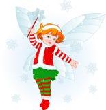 Fairy del bambino di natale Fotografia Stock