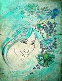 Fairy del fiore Fotografie Stock Libere da Diritti