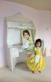 Fairy del fiore Fotografie Stock